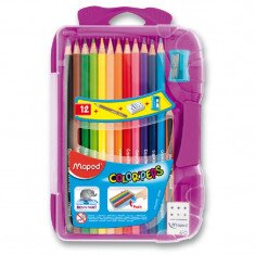 Pastelky 12 ks -  Maped - Color Peps Smart