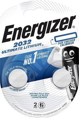 ENERGIZER Lithium Ultimate CR2032 duo